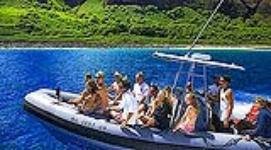 Captain Andy's 4 Hour Na Pali Snorkel Raft Adventure